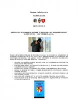 Article gendarmerie de la Loire sur la prevention des cambriolages 17 nov 2017